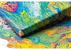 Pouring na ředění akrylových barev