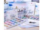Akvarel - White Nights - Medové barvy