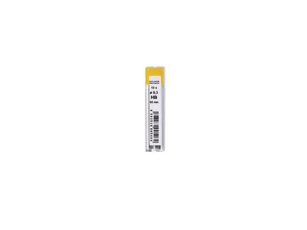 Grafitové mikrotuhy 0,3 mm
