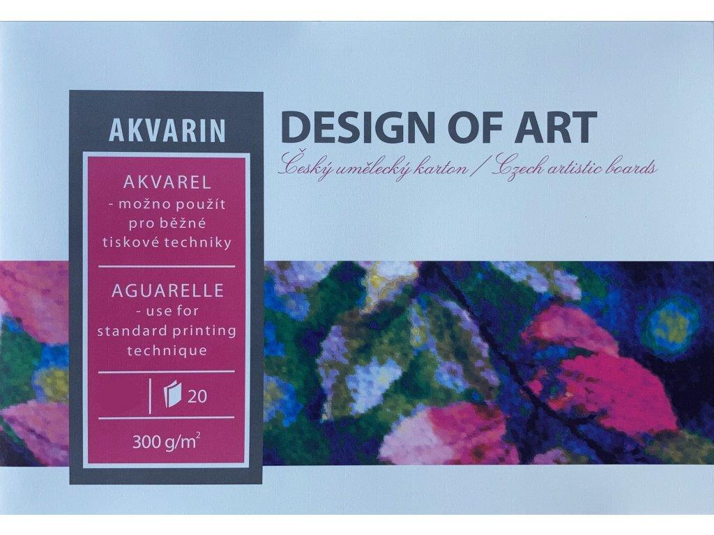 Blok  Akvarin 300g/m² - A4