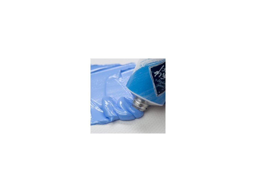 olejová barva Master Class Royal modrá 528