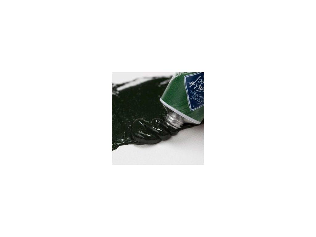 olejová barva Master Class trávová zeleň 716
