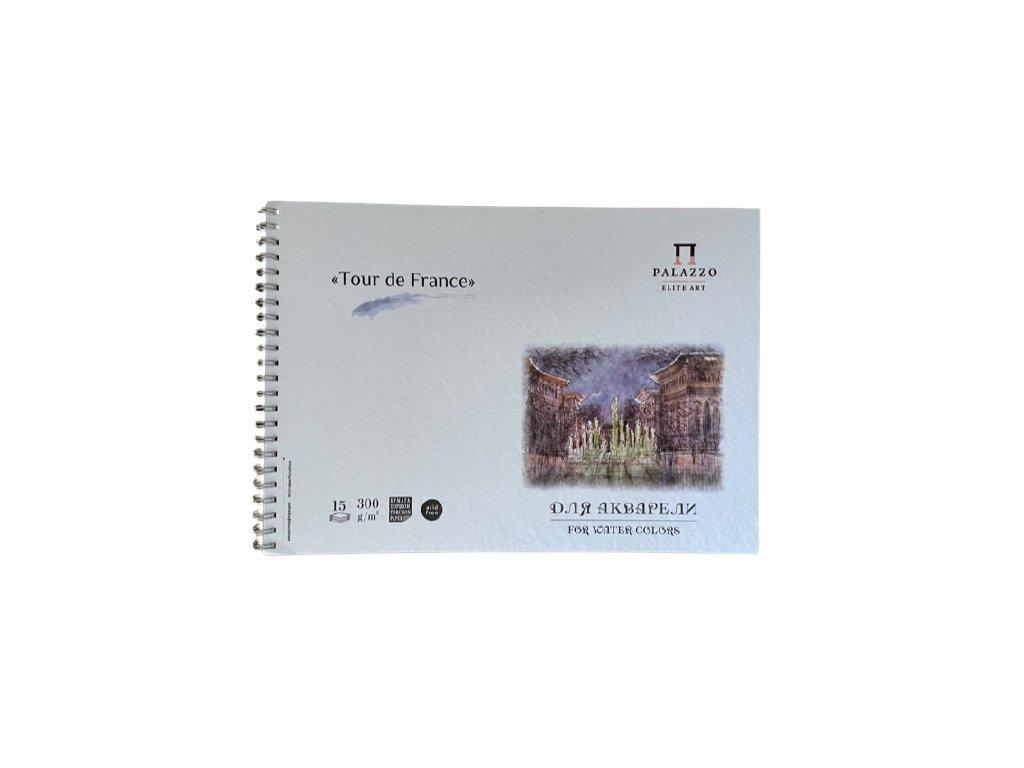 Akvarelový blok Palazzo - Tour de France 300 g/m² A4