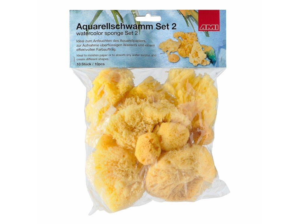 Mořská houba 10 ks  zn.  Ami