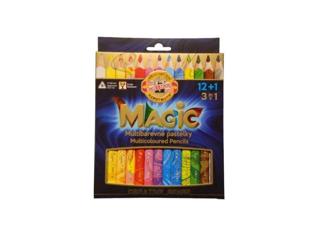 Pastelky Magic 12+1 Koh-i-noor