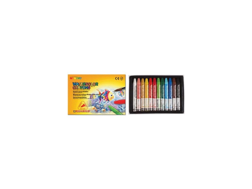 Akvarelové pastely Mungyo - 12 ks