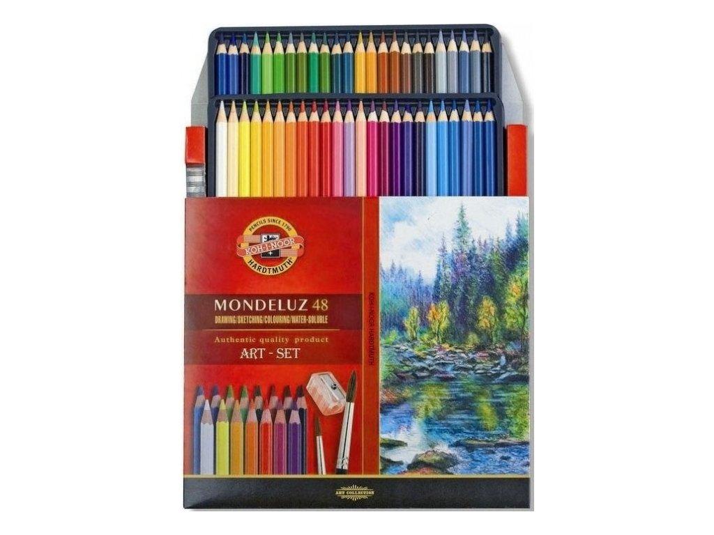 akvarelové pastelky