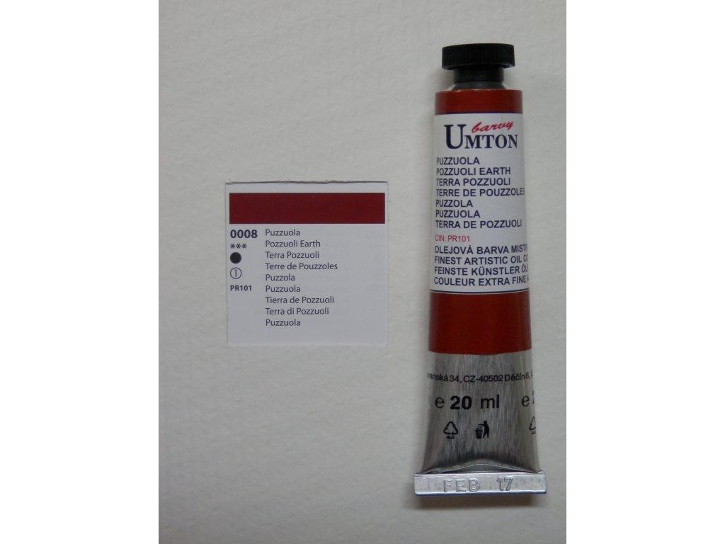 Olejová barva UMTON 20 ml - puzzuola 08