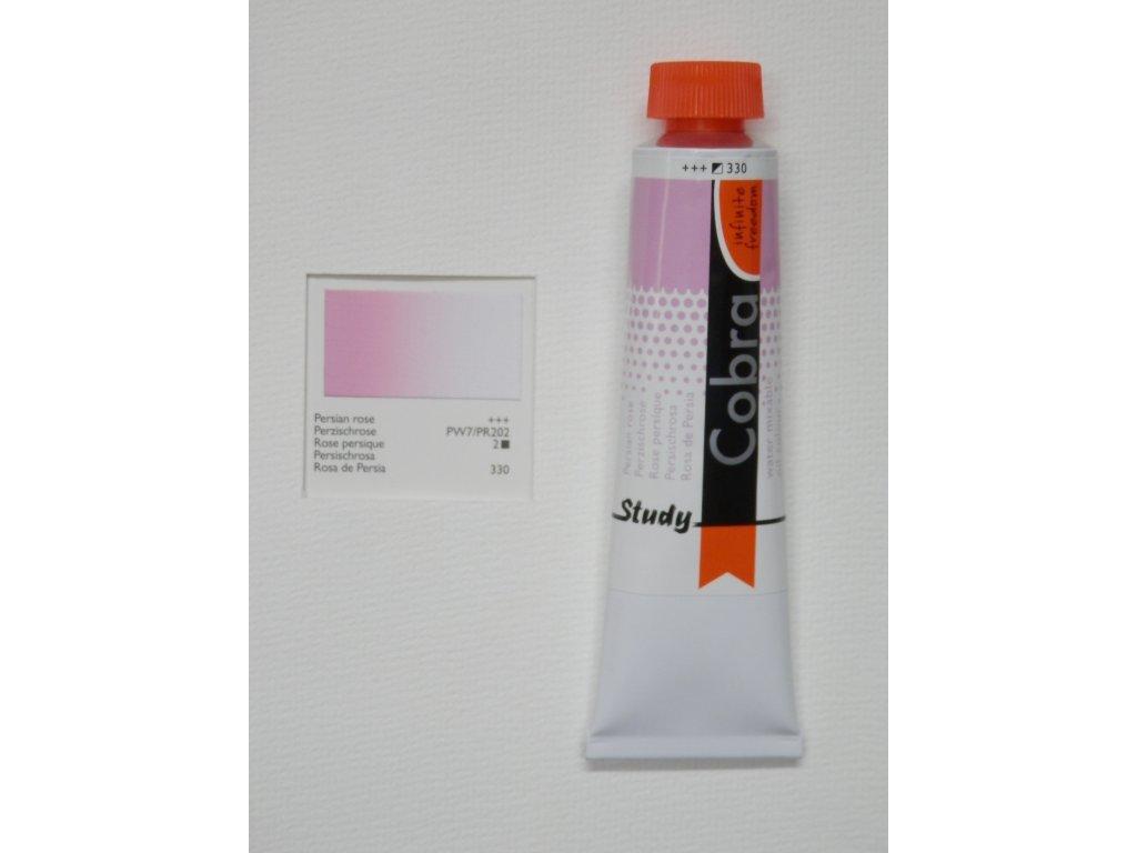 Olejová barva COBRA H2Oil 40 ml - Persian rose 330