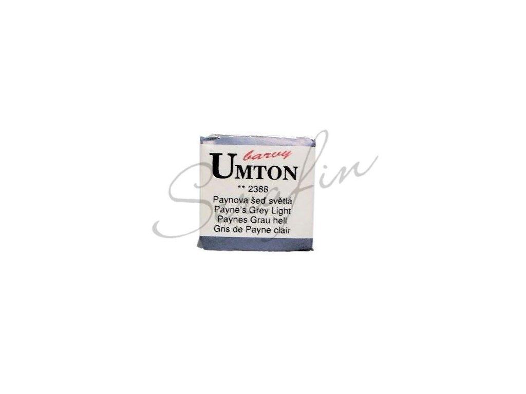 2388 - Akvarelová barva UMTON - Paynova šeď světlá