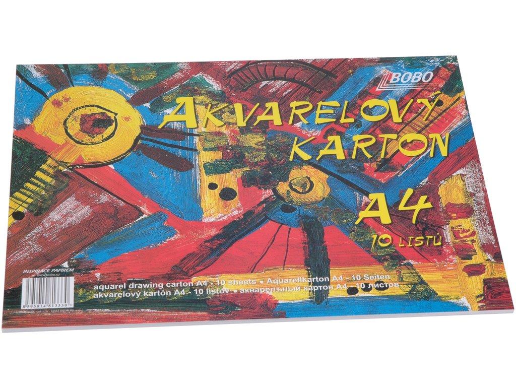 akvarelový karton A4 Bobo blok