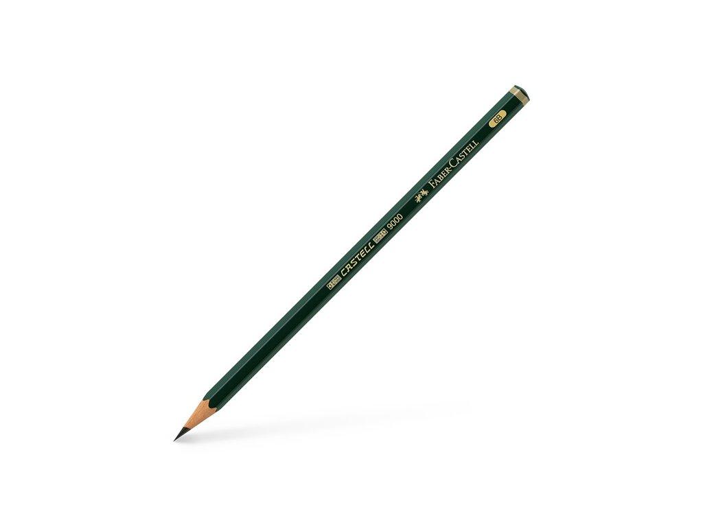 Grafitová tužka Faber-Castell 6B