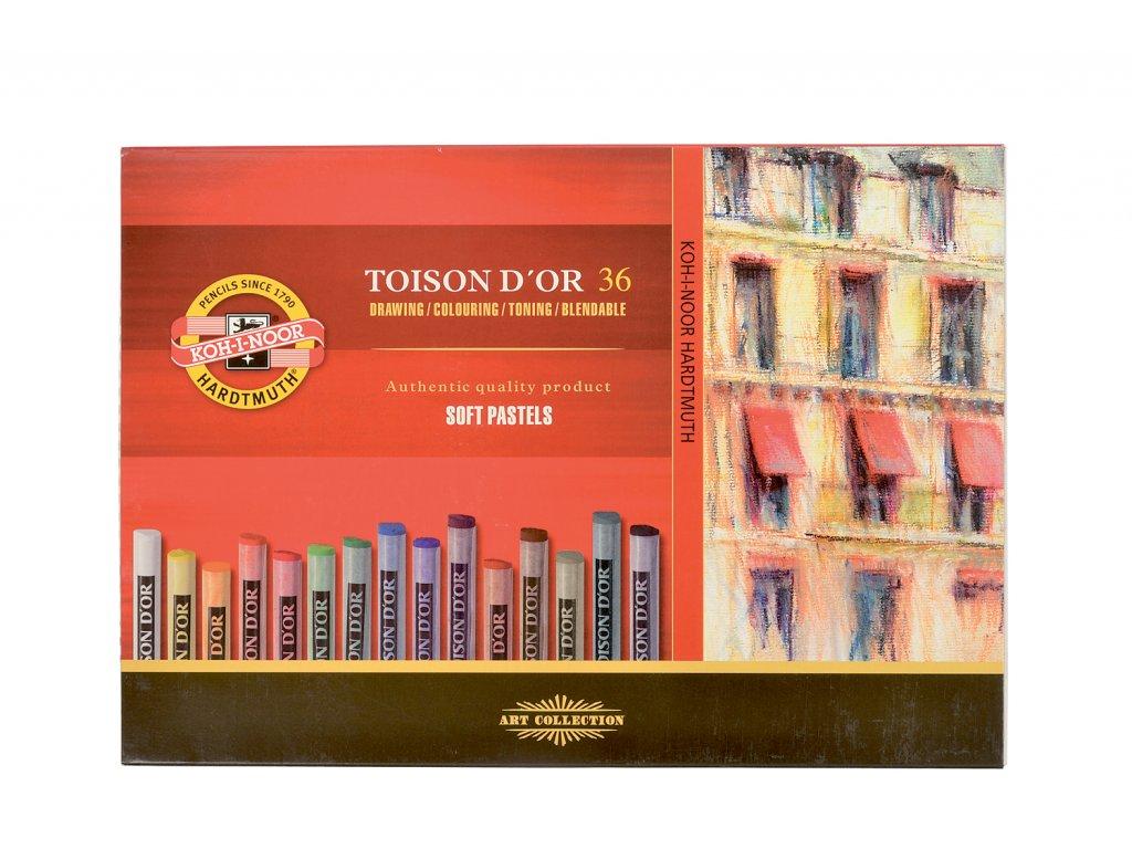 Pastel soft TOISON - 36 ks