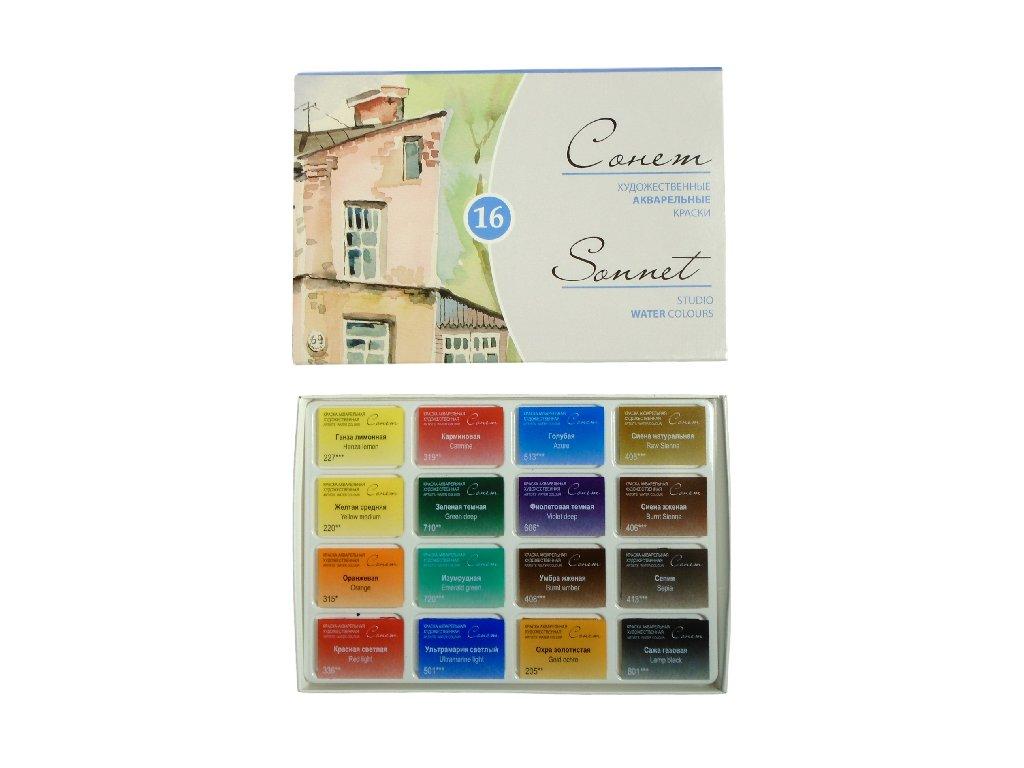 sonet water colours