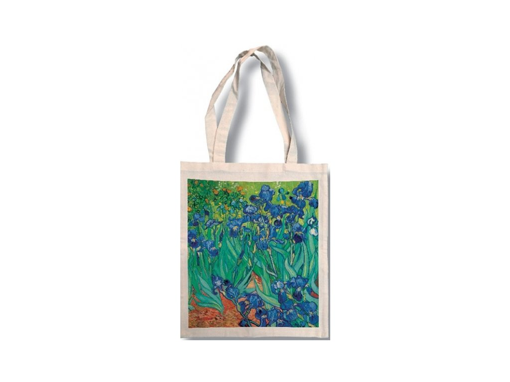 Bavlněná taška - Van Gogh - Kosatce