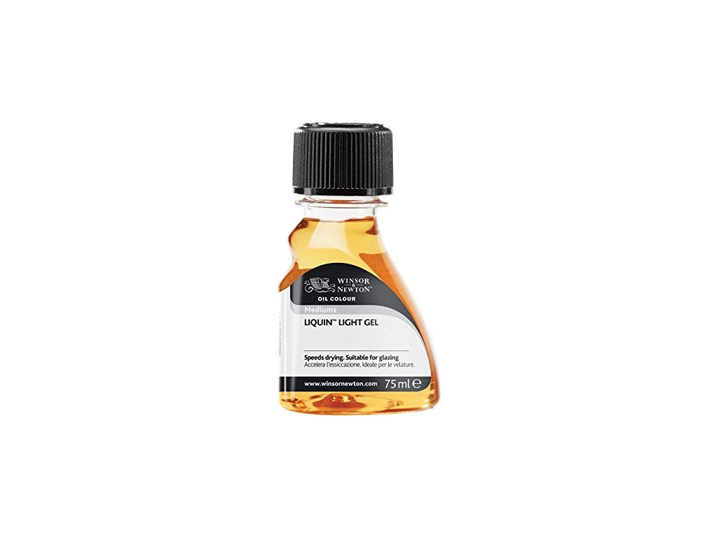 Liquin light gel -  Rychleschnoucí lesklé médium 75 ml