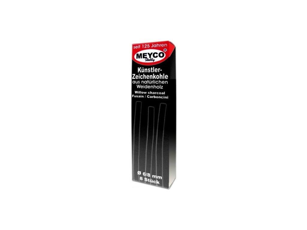 Sada přírodních uhlů Meyco 8 ks - 6/8 mm