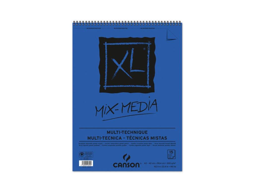 Blok XL MIX-MEDIA Canson 300g/m² - A2