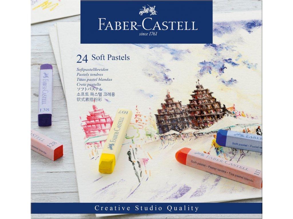 Pastel soft Faber Castell - 24 ks