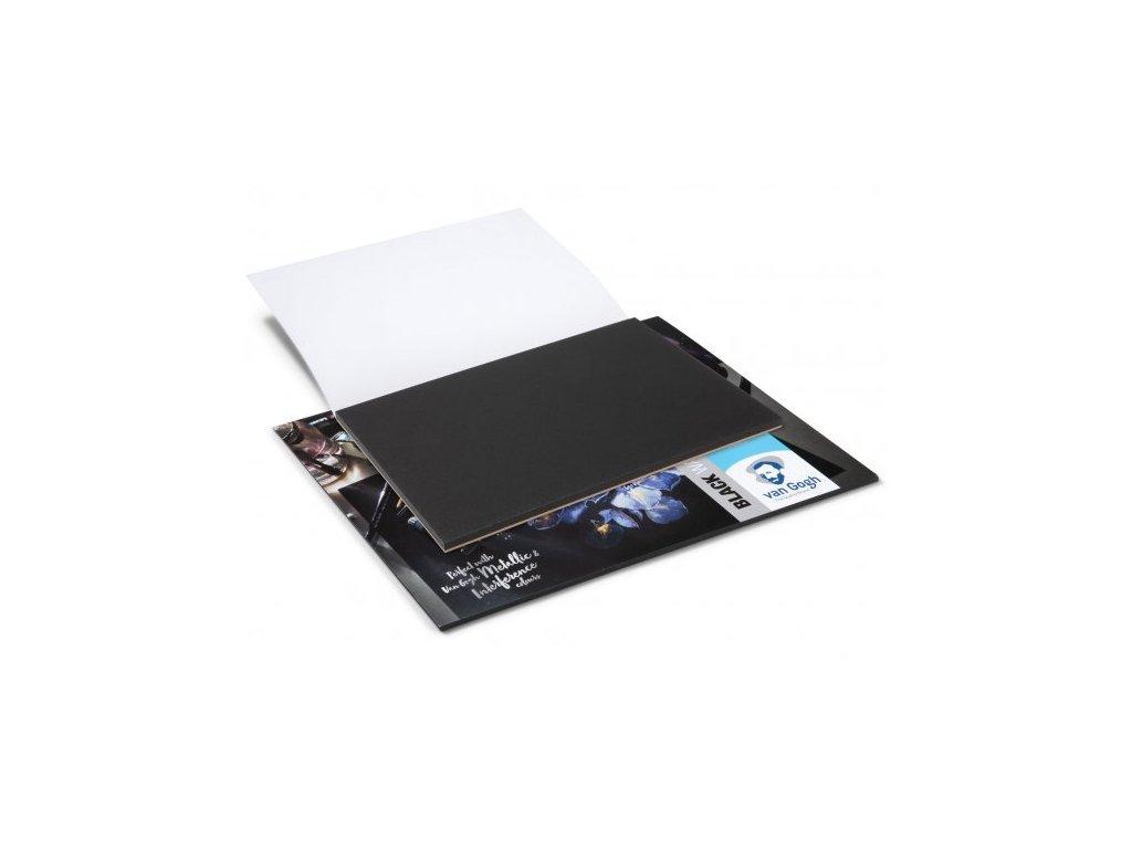 Černý akvarelový papír Van Gogh - Royal Talens - A3Van Gogh - Royal Talens - A3
