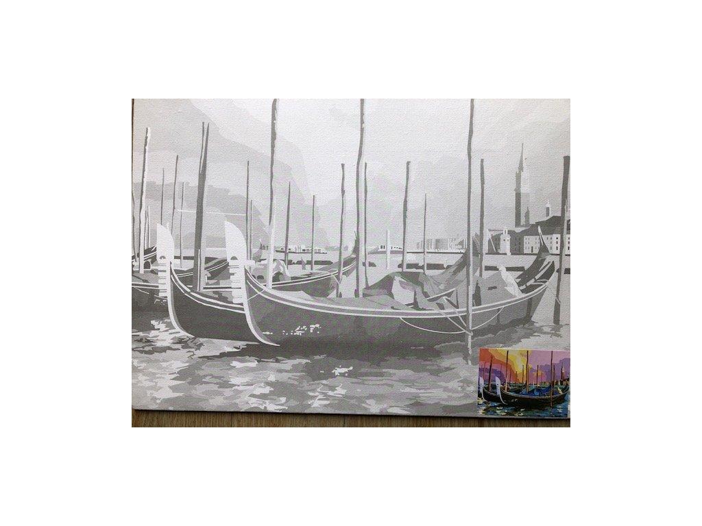 Plátno s motivem - přístav