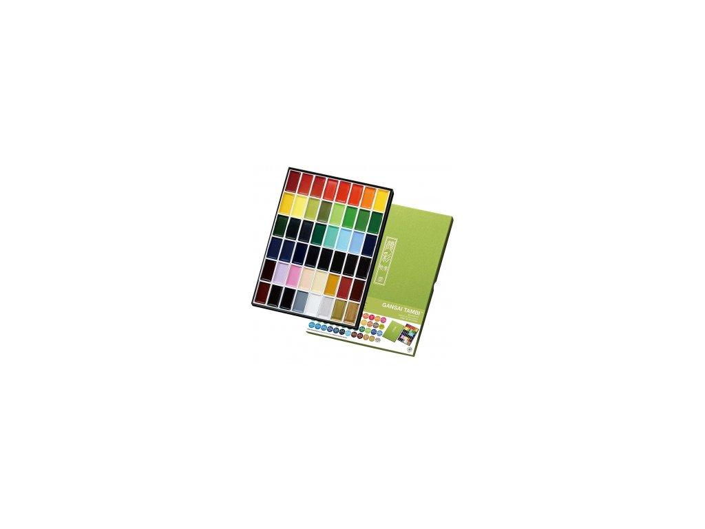 akvarelove barvy gansai tambi 7