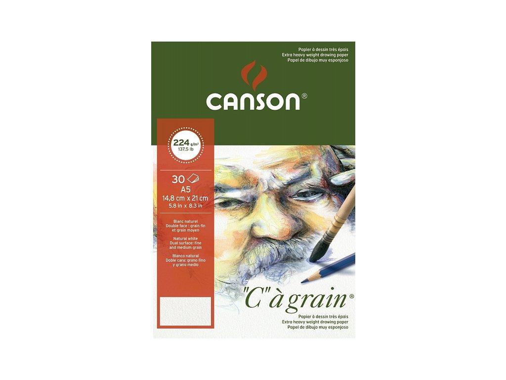Blok Canson - 224 g/m2 30 listů A5, A4, A3