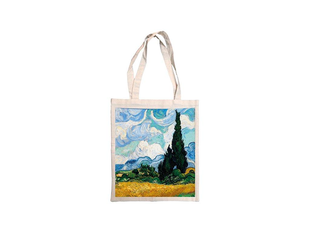 Vincent Van Gogh - Pole s cypříši