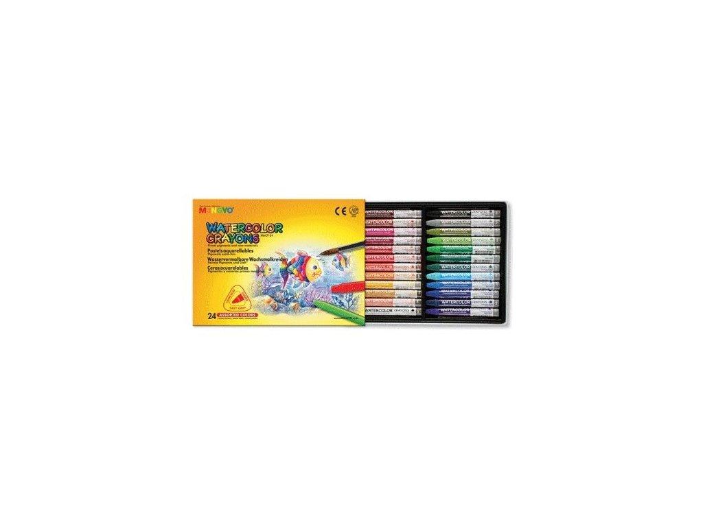 Akvarelové pastely Mungyo - 24 ks