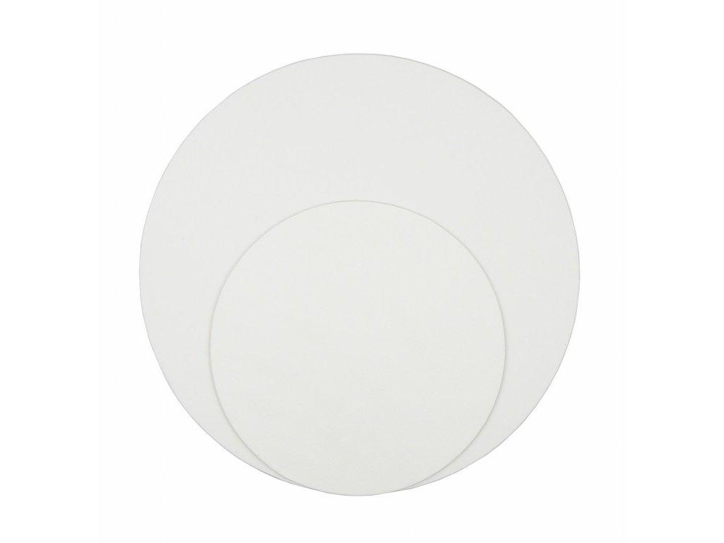 Deska napnutá plátnem - kulatá ø  40, 50 a 60 cm