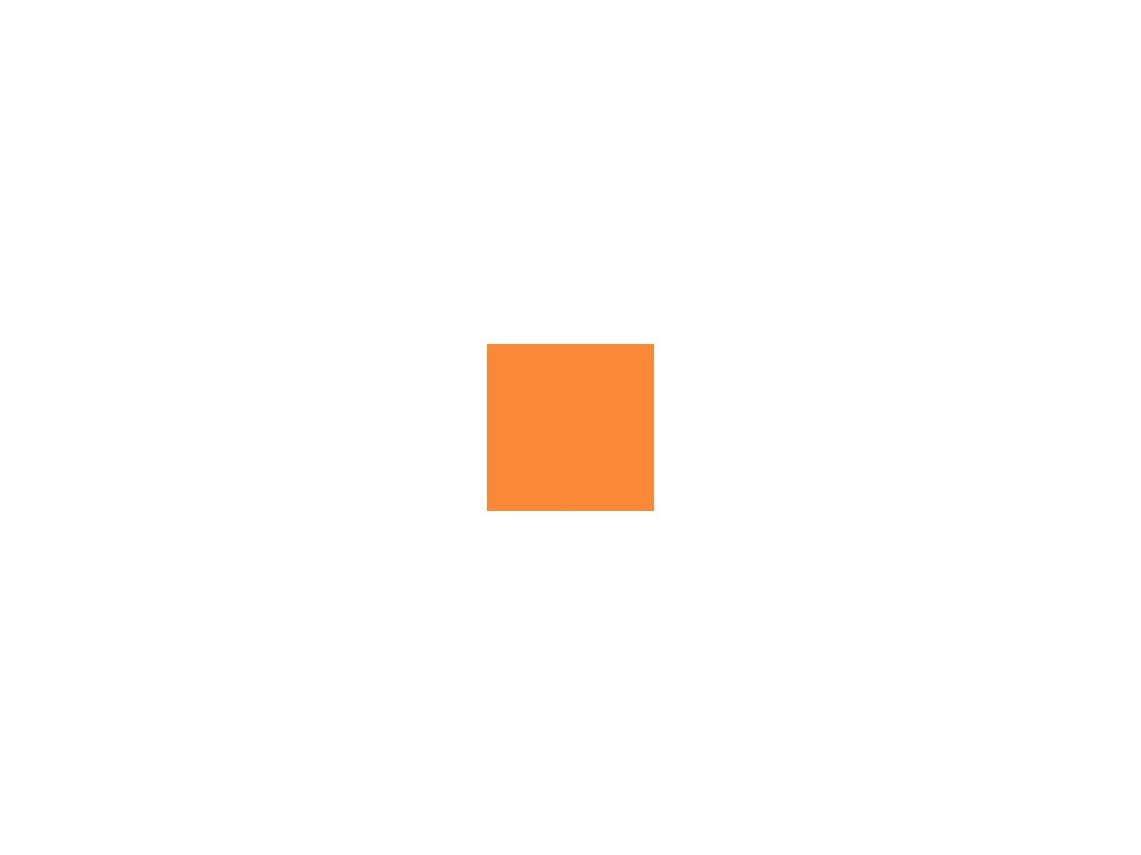 Papír 160 g/m² - A3 - mandarinkový (10listů)