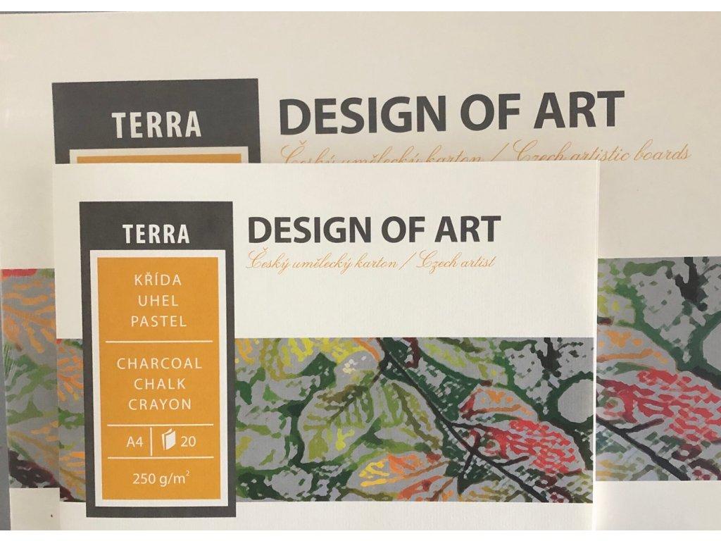 Blok Terra 250g/m² - A4