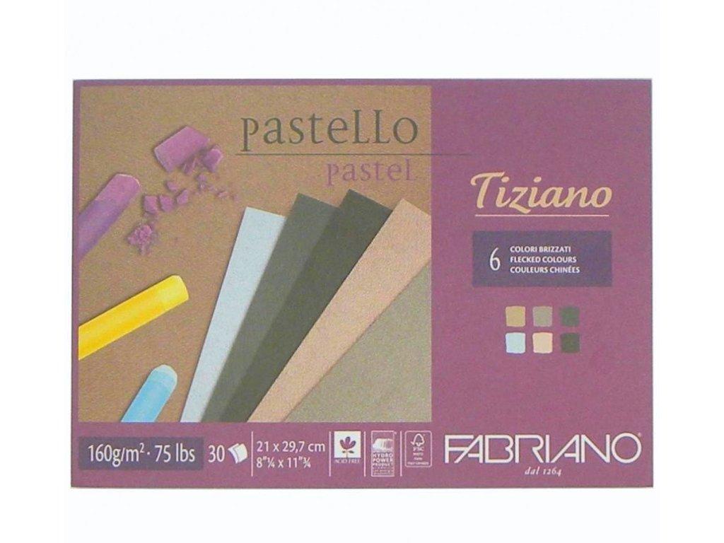 Blok Tiziano 160g Fabriano A3 mix barev