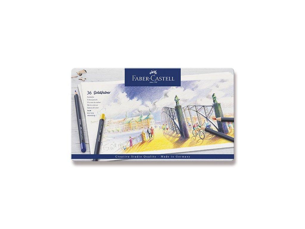 Sada uměleckých pastelek Goldfaber 36 ks - Faber Castell