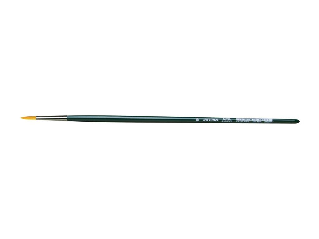 Štětec NOVA oilpainting brush - kulatý č.4
