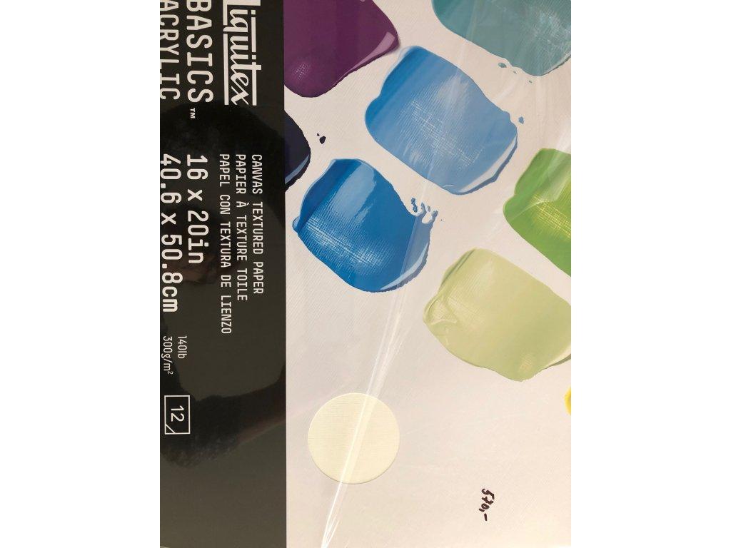 Blok Liquitex acrylic basics  300 g/m2 A3 A2
