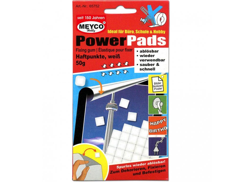 Lepící hmota PowerPads-tvárlivá Meyco