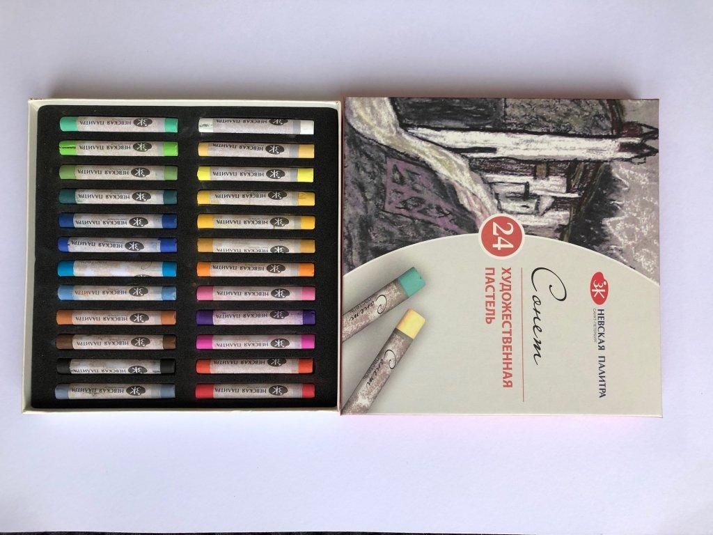 Suchý pastel Sonnet 24 ks - základní řada