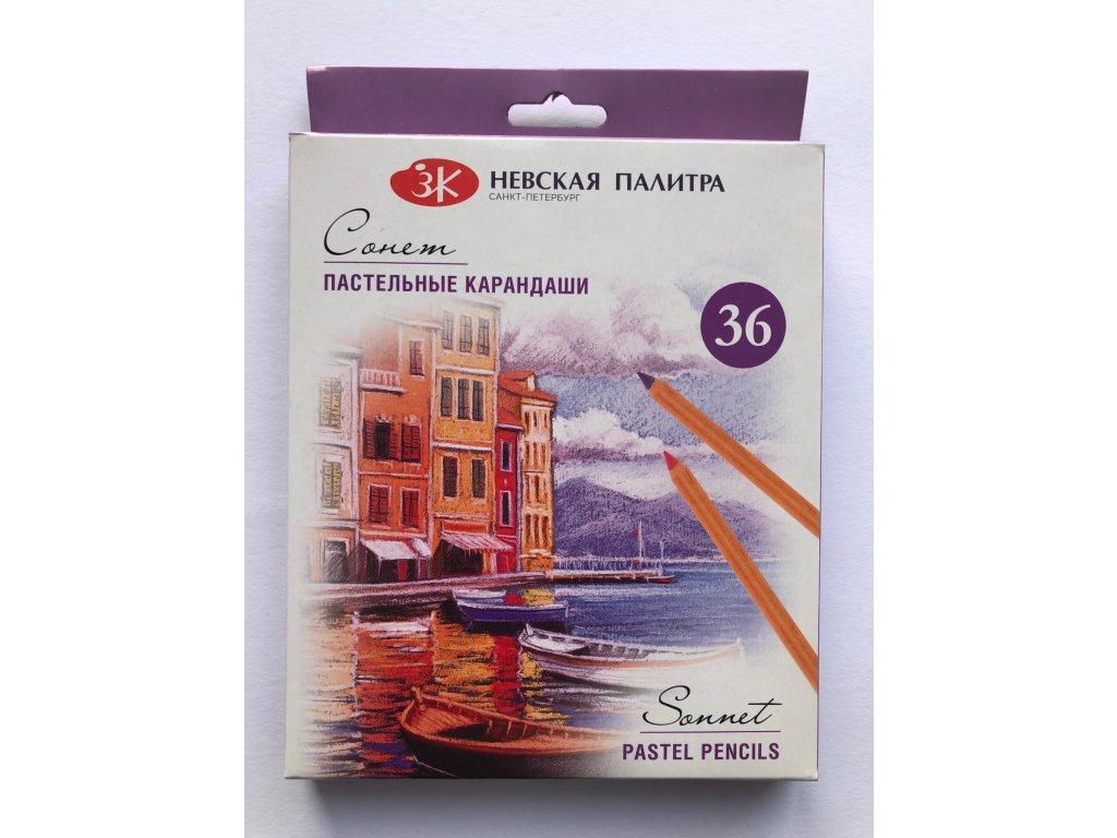 Suchý pastel v tužce 36 ks Nevskaya Palitra