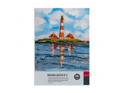 Akvarelový blok No.4 zn. Ami 300g/m², 17x 24 cm