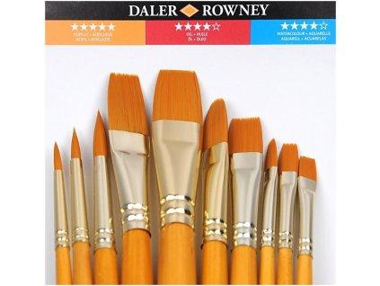 Sada 10 štětců Daler Rowney