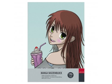 Blok Manga A4 zn. Ami pro kresbu Manga 170 g/m²
