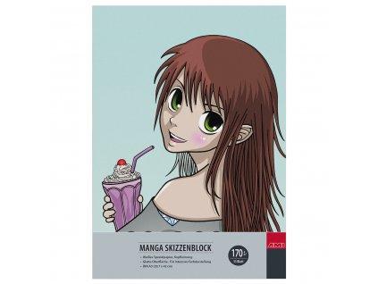 Blok Manga A3 zn. Ami pro kresbu Manga 170 g/m²