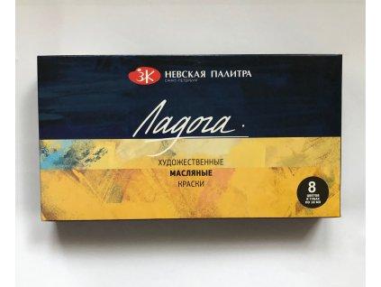 Olejové barvy Nevskaya Palitra - Lagoda 8 x 18 ml