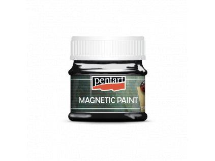 Černá magnetická barva - Pentart 50  ml