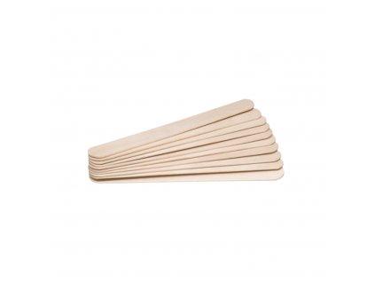 Dřevěné špachtle 150 x 180 mm 100 ks