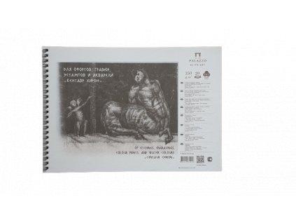 Akvarelový blok Palazzo  Centaur A4  250g/m² 100 % bavlna