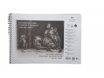 Akvarelový blok Palazzo  Centaur A3  250g/m² 100 % bavlna