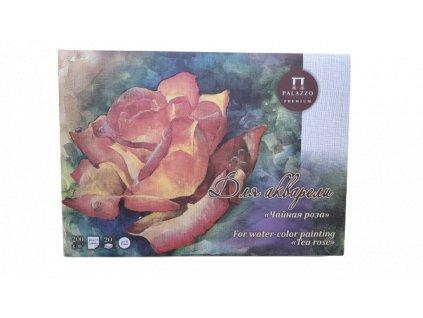 Akvarelový blok Palazzo - čajová růže 200g/m² A3