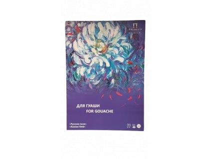 Papír kvaš Palazzo - Květina - 235 g/m² A3